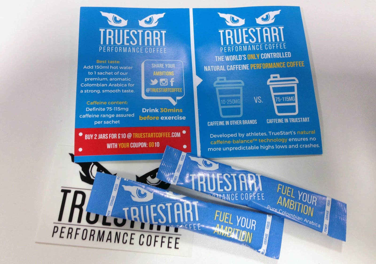 Review Truestart Caffeine Controlled Coffee