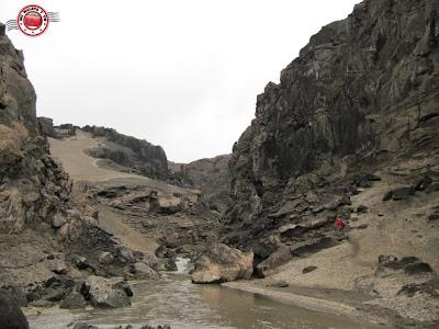 Drekagil (la quebrada del dragón), Islandia