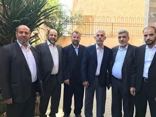 ينضم إليه وفد من الخارج.. وفد من حماس يغادر غزة متوجهاً لمصر  التفاصيل من هناا