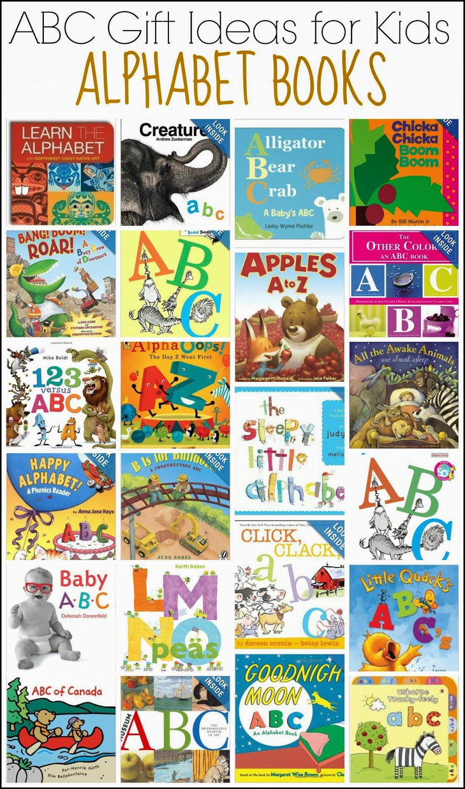 50 Abc Gift Ideas For Kids And Next Comes L