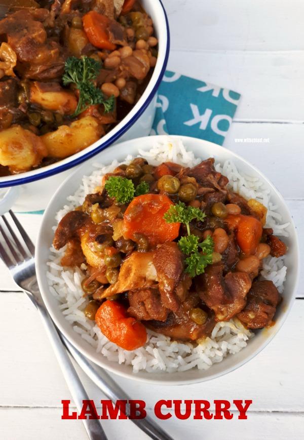 Rich, tasty Comfort food ! Fall-off-the-bone tender Lamb Curry