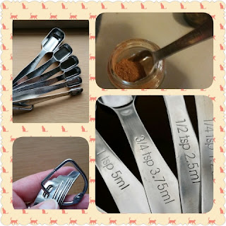 measuring spoon collage