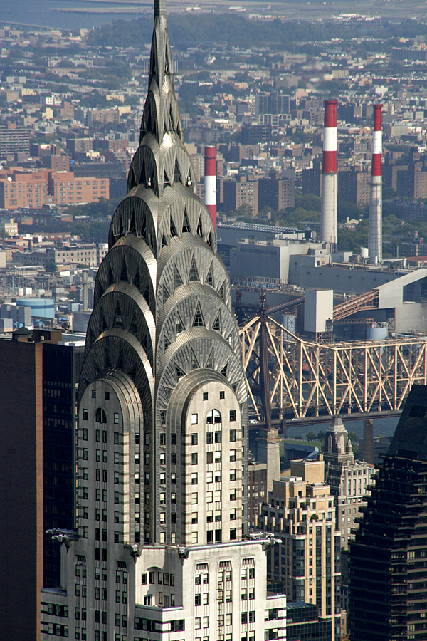 New picture of the Chrysler Building, New York City