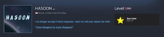 Steam En Yüksek Levelli Hesap HASOON