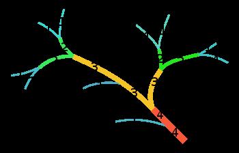 الدرس 10 ArcGIS | رسم الشبكة المائية وتحديد الرتبة النهرية حسب ترتيب سترايلر Strahler