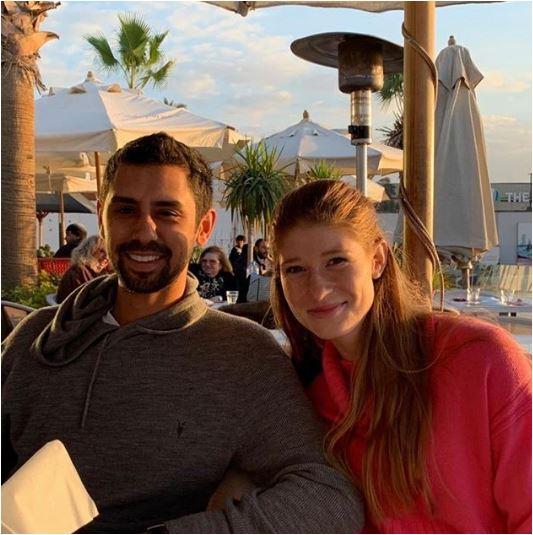 ابنة مؤسس شركة ميكروسوفت مع حبيبها المصري في القاهرة توبقال نيوز