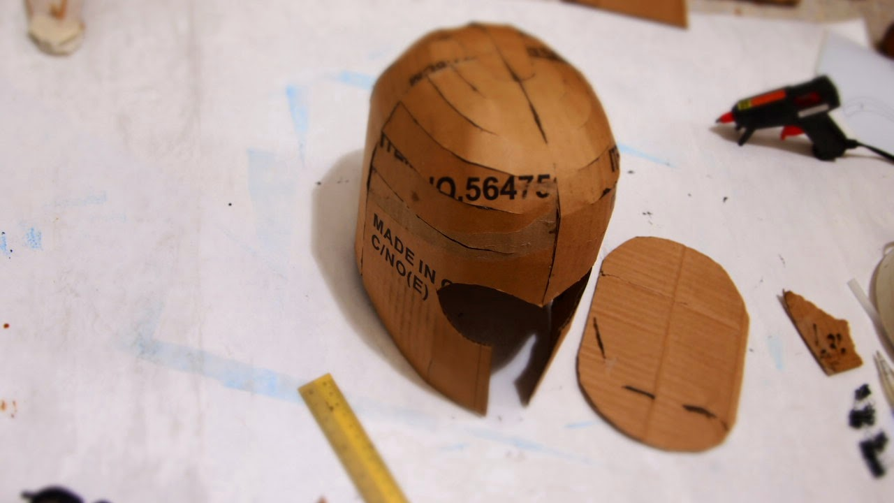 Dali Lomo X Men Magneto Costume Helmet Diy Cardboard With Template