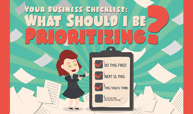 Your Business Checklist: What Should I Be Prioritizing?