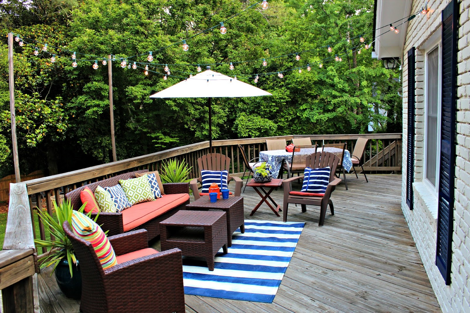 Our Back Porch Is (finally) Ready For Summer