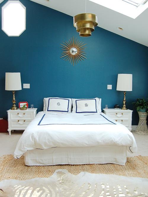 Consigli per la casa e l 39 arredamento pareti carta da zucchero foto idee e consigli di - Camera da letto marrone ...