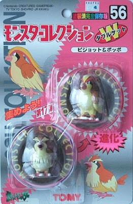 Pidgeot Pokemon figure Tomy Monster Collection series