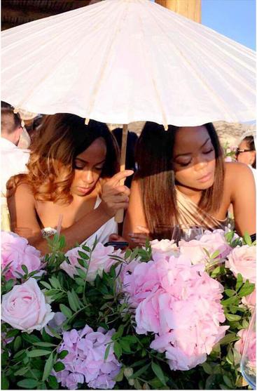 Stephanie-Coker-Olumide-Aderinokun-white-wedding-Greece-4