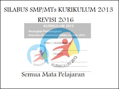 Silabus Kurikulum 2013 SMP Revisi Terbaru 2016
