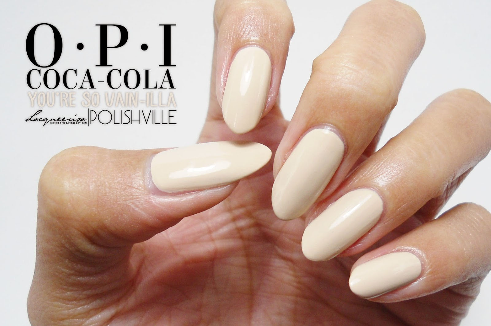 OPI You're So Vain-illa, LacqueerisaXPolishville