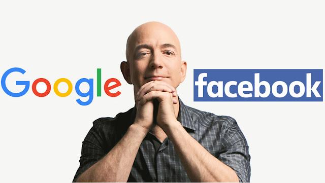 Amazon commence vraiment à inquiéter Google et Facebook