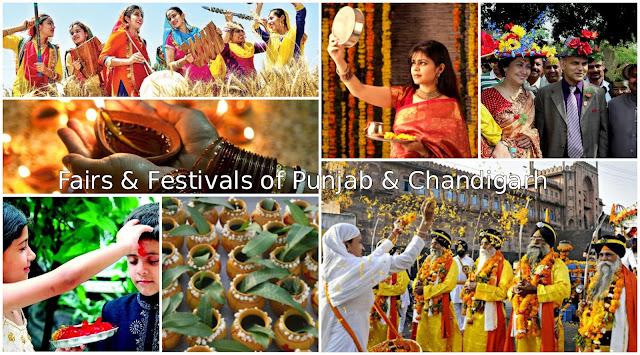 Fairs & Festivals of Punjab and Chandigarh