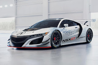 Acura NSX GT3 2017 Front Side