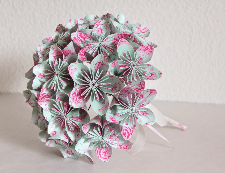 DIY origami flower bouquet   diy painting   1153x1500