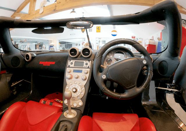 Koenigsegg CCXR Edition 360 interior view