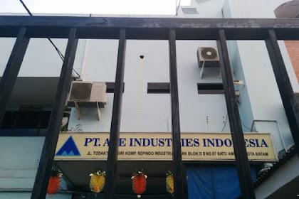 Lowongan Kerja Batam : PT. ACE Industries Indonesia Maret 2017