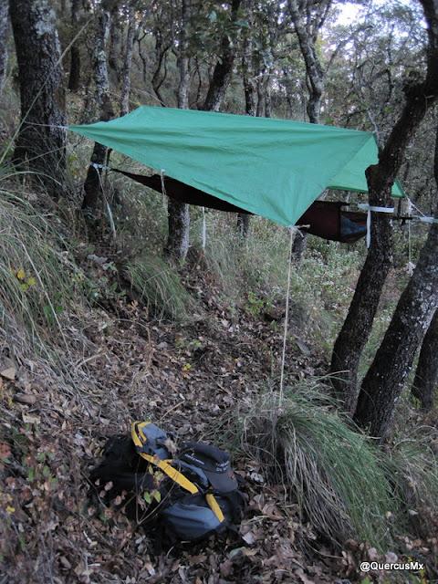 Refugio aéreo en la Sierra de San Juan Cosalá