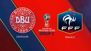 France vs Denmark Live Streaming online Today 26.06.2018 World Cup Russia 2018