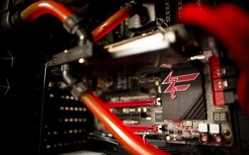 Wallpaper: Inside of a high performance CPU