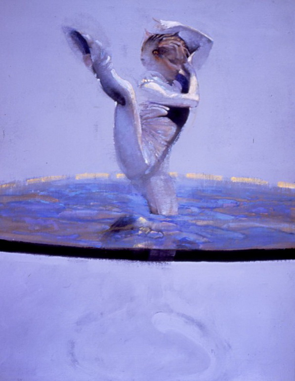 Dancers in White - Robert Heindel 1938-2005 - American painter
