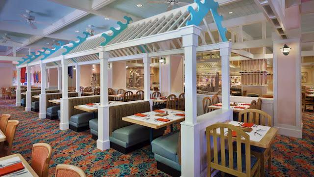Interior do Cape May Cafe