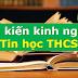 SÁNG KIẾN KINH NGHIỆM MÔN TIN HỌC THCS (Skkn tin học 6, 7, 8, 9)