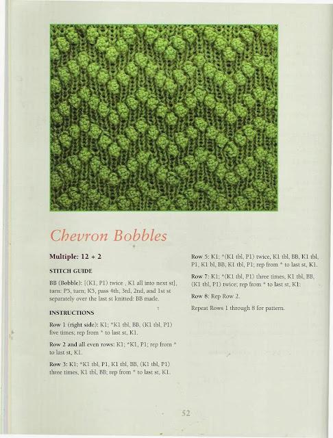 Ponto de Tricô 39 - 50 Fabulous Knit Stitches