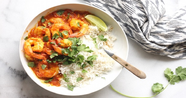 Tomato & Shrimp Curry  Recipe