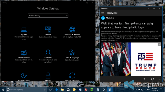 Cara Aktifkan Mode Light/Dark Theme di Windows 10 1