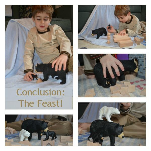 Preschool storytelling activity