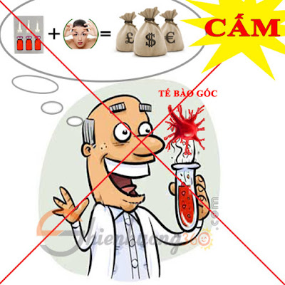 Bộ Y Tế cấm dùng Tế bào gốc trong mỹ phẩm