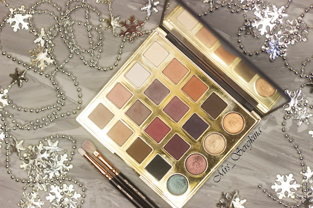 New year make-up 2018, step 3: Tarte Tarteist Pro Eyeshadow palette