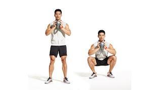 exercícios futebol musculação benefícios faz mal agachamento goblet