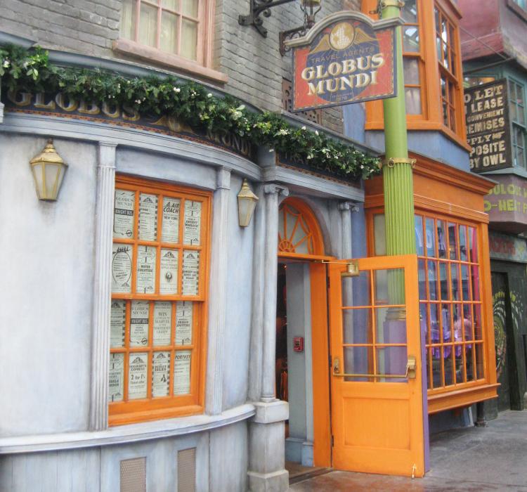 Globus Mundi Wizarding World of Harry Potter Orlando
