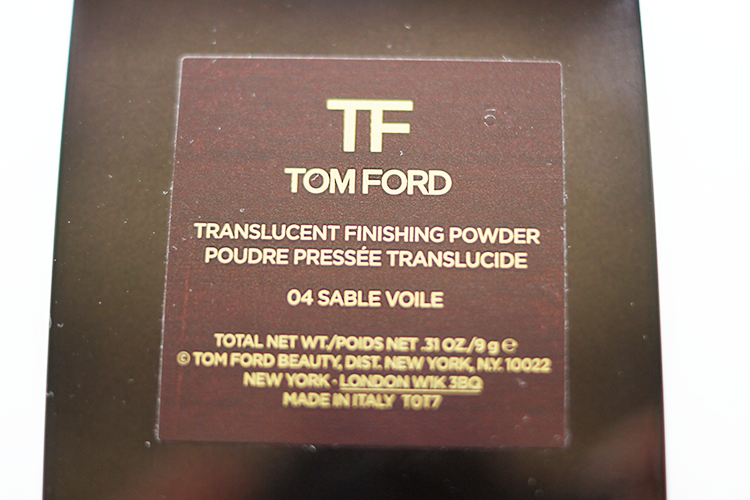 064c87c99c3d2 Tom Ford Translucent Finishing Powder.