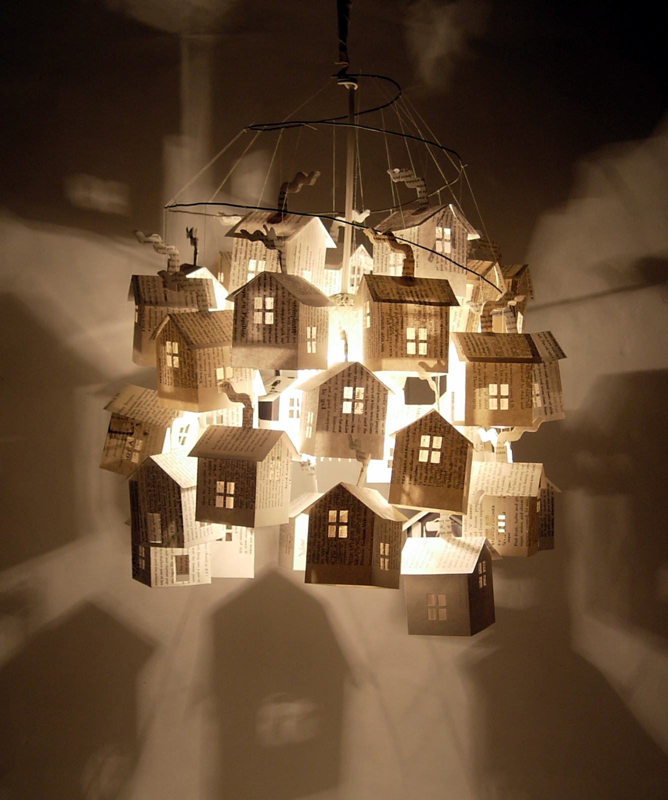 Lighting House: Hutch Studio: Paper House Lights At Hutch