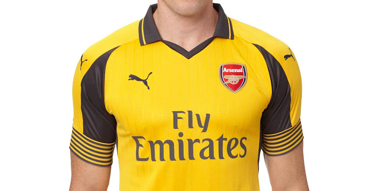 low priced 2606d 818af Arsenal 16-17 Away Kit Released - Footy Headlines