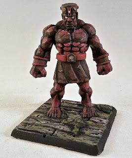 Show Off: Stone Golem (inspired by Marvel's Juggernaut)