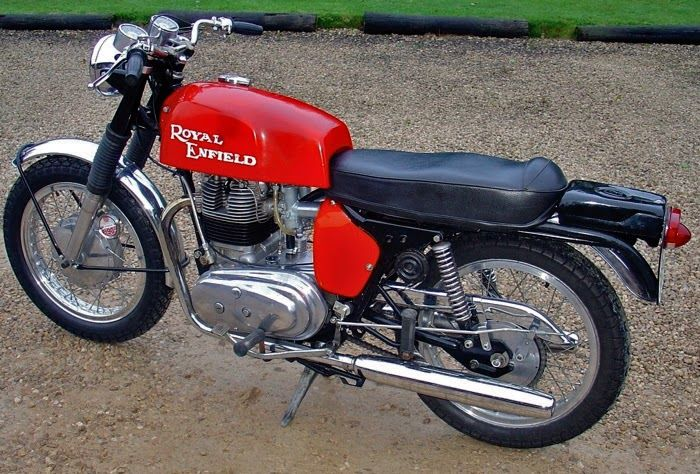 Royal Enfield Interceptor prototype.