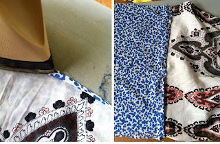 como hacer pañuelos para el cuello
