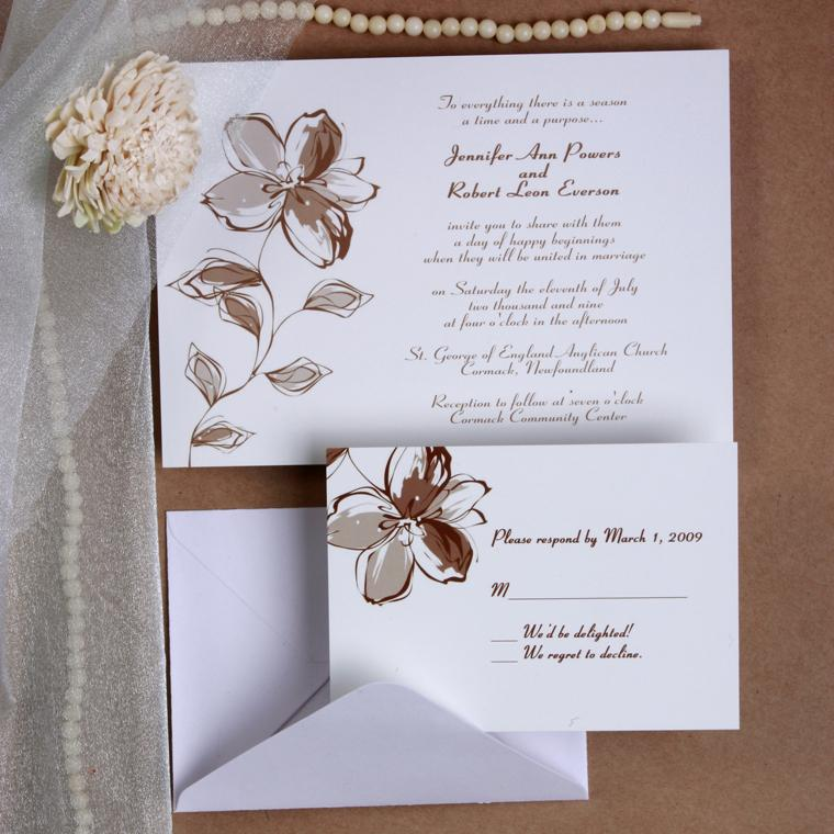 What Is The Etiquette For Wedding Invitations: Formal Wedding Invitations: Formal And Informal Wedding