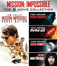 Mission Impossible 1-5 Boxset มิชชั่น: อิมพอสซิเบิ้ล ภาค 1-5