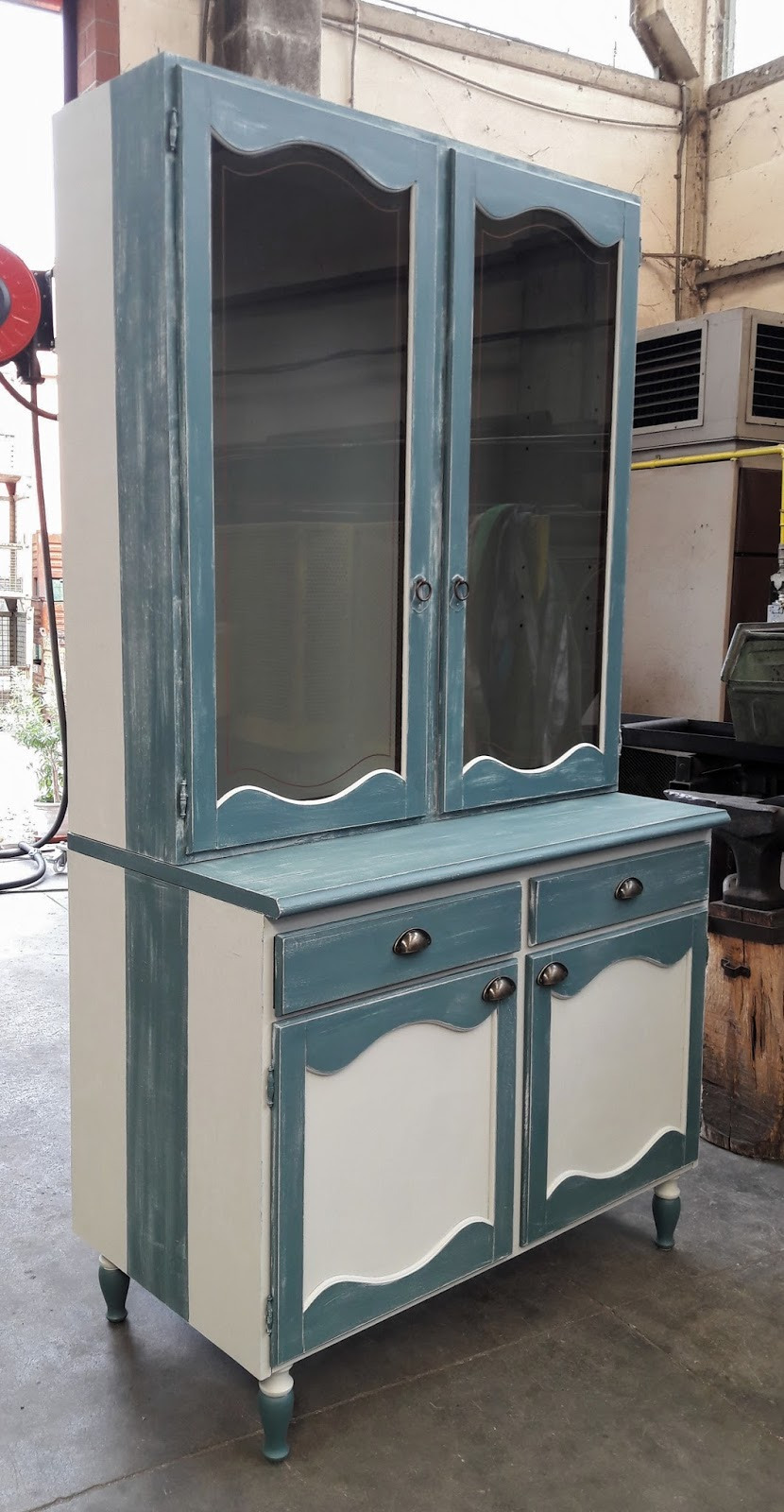 Verniciare mobili in laminato shabby co - Dipingere cucina legno ...