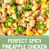 Perfect Spicy Pineapple Chicken #spicy #chicken