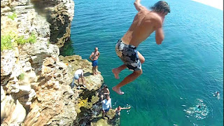 Cliff Jump at Tyulenovo - Black Sea