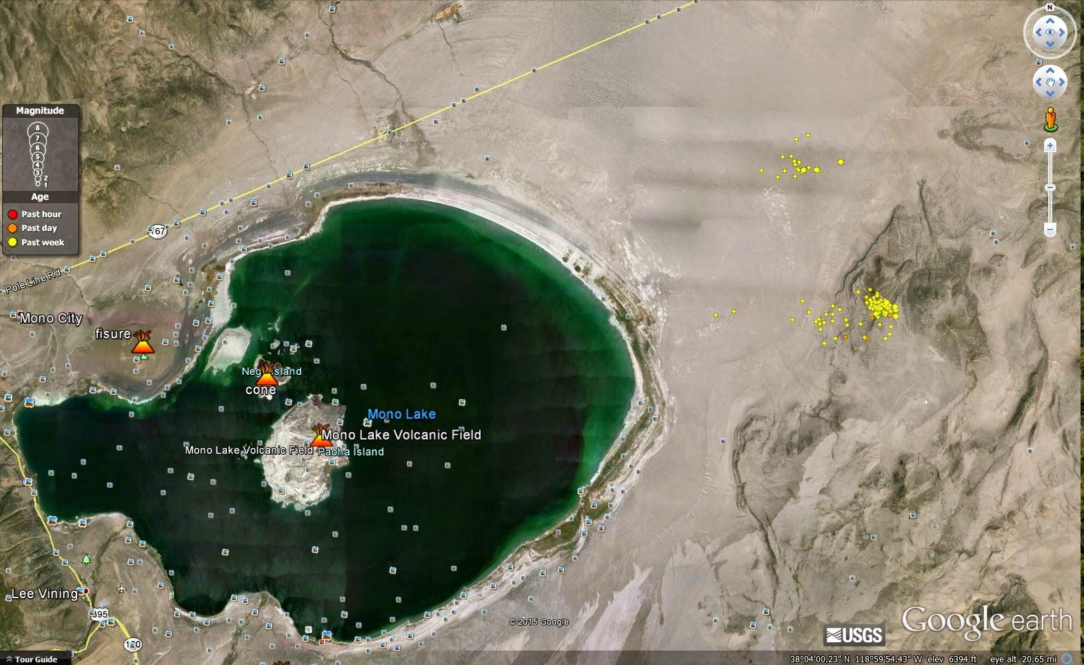 Volcano Science And News Blog Long Series Of Quakes At